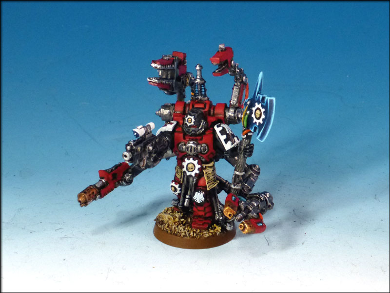 Up Next Is The Techmarine These Things Are Highly Detailed And Can Be Fiddly To Paint